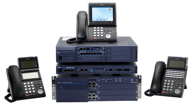 QualTel Communications NEC Univerge SV9100 system